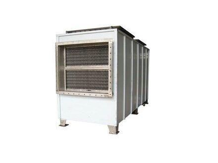 板式空气预热器的结构及工作原理