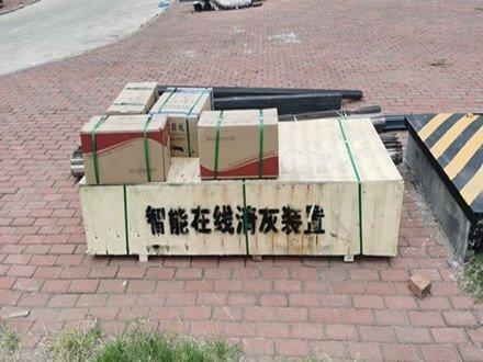 萊州鑫暉生物質熱電有限公司在線清灰設備