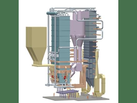 循环流化床锅炉进行清洁的干冰清洗的工作原理是什么?